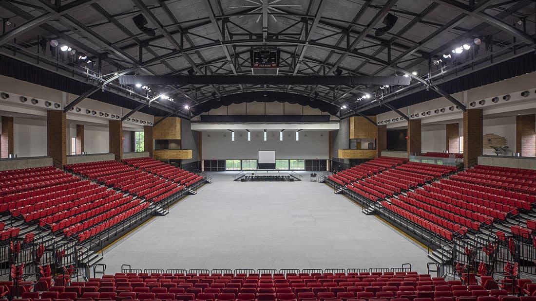Convocation Center interior