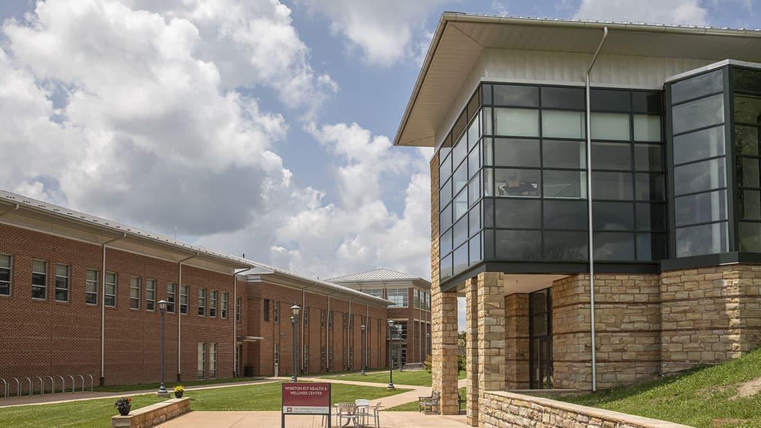 Exterior of Wellness Center