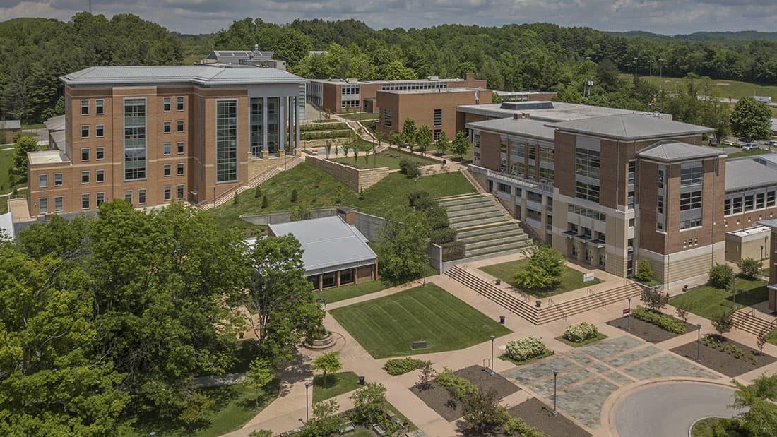 Campus exterior view