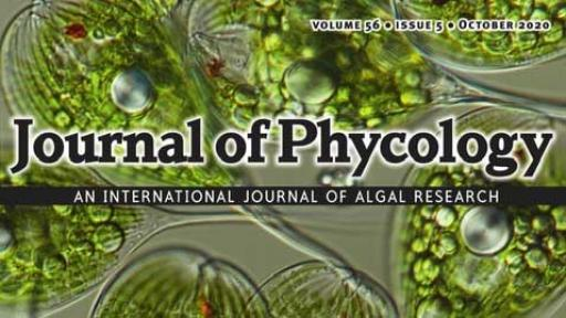 Journal of Phycology cover
